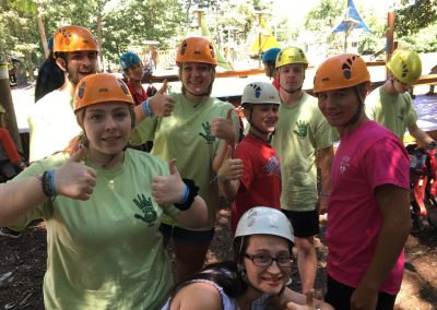 2019 Mission Trip Ropes Course